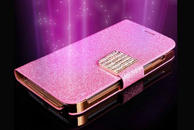 ტელეფონის ყურის საფარის Aliexpress ძვირადღირებული ბრჭყვიალა Diamond PU საფულის ტყავის ყუთი I9300 Galaxy S3 Samsung I8190 Galaxy S3 MINI Flip Buckle Stand ბარათის მფლობელი მიმოხილვა