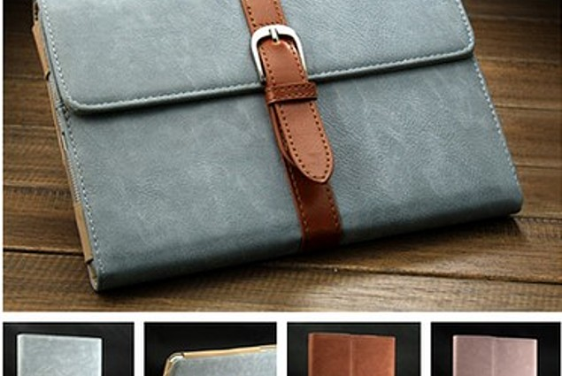 Tablet case Aliexpress Retro PU Leather Stand Case for iPad 4 3 2 Smart Cover for iPad Mini Business Style with Buckle Fashion design Blue Black Brown Reviews