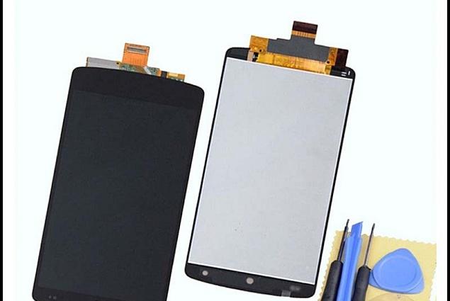 LCD-skärm Aliexpress 100% original LCD-skärm med touch-digitizer-skärm komplett montering för LG Nexus 5 D820 gratis frakt Recensioner