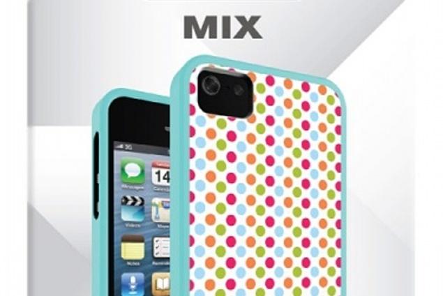 """Púzdro pre iPhone 5 / 5S IFrogz """"Mix Polka Dot"""" (IP5MIX-DOT Mix) חוות דעת"""