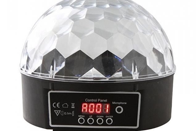 LED barevná hudba - LED kouli Light Light (Disco Ball) Recenze