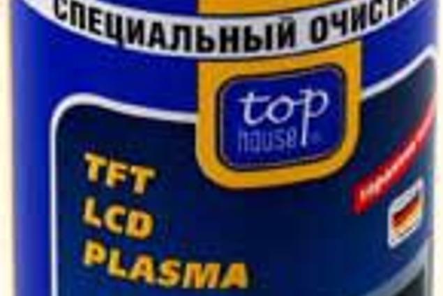 Spetsiaalne puhastusvahend TOP HOUSE hoolitseda LCD televiisorid, TFT ja plasma paneelid LCD monitoridega Arvustused