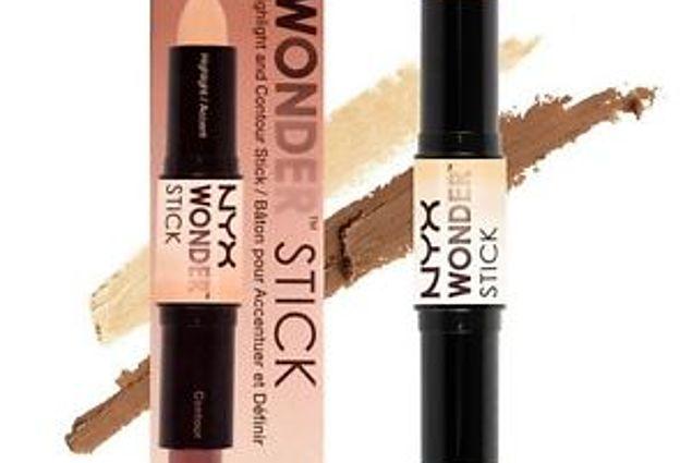 NYX Wonder Stick Highlight và Contour Correction Pencil Đánh giá