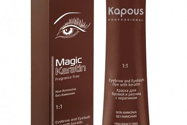 Maling til øjenbryn og øjenvipper Kapous Magic Keratin Anmeldelser
