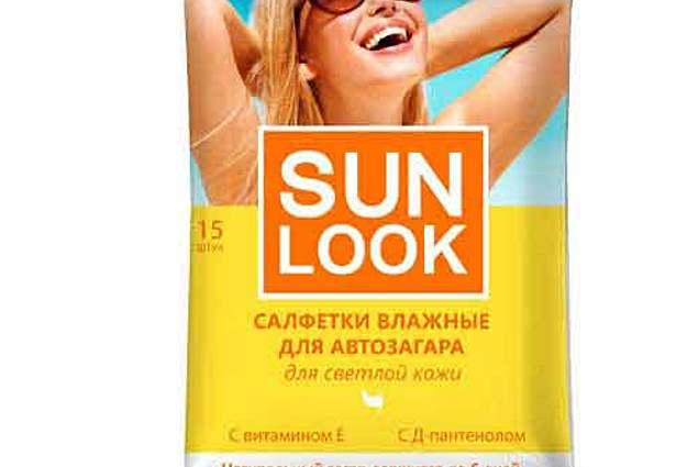 Bronzlaştırıcı Mendil, ıslak SUN LOOK Yorumları