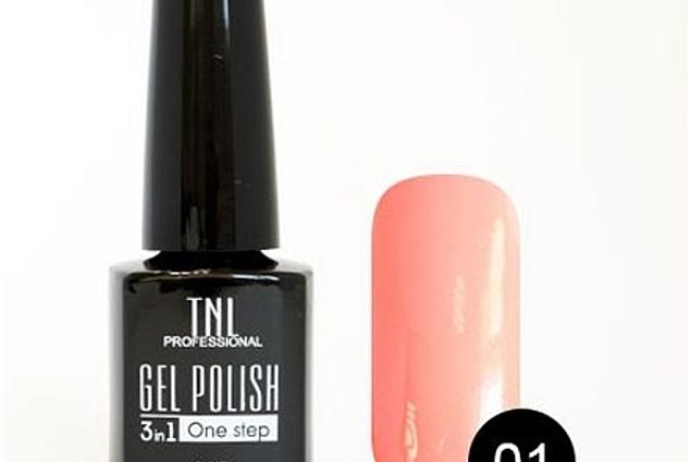 Gel Polish TNL 3 in 1 Fase Tunggal Ulasan