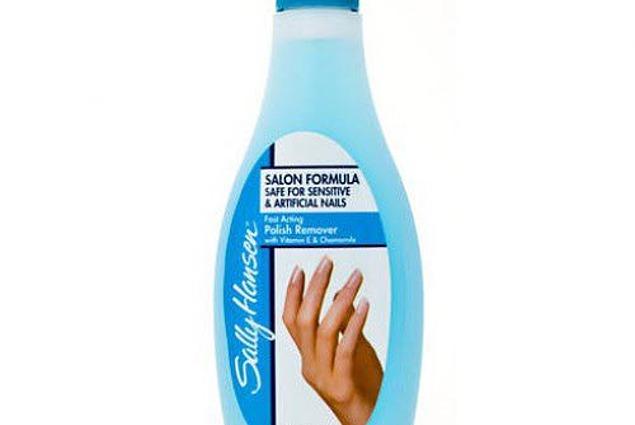 Chất lỏng sơn móng tay, Sally Hansen cho nhân tạo và nhạy cảm móng tay Đánh giá
