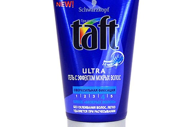 """Styling gel hår Taft Ultra med den virkning, """"våde hår"""" Anmeldelser"""