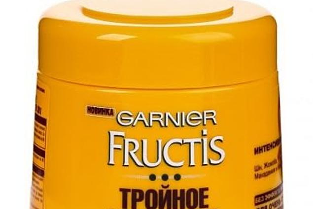 Garnierová maska na vlasy Trojitá regenerační olejová maska 3v1 Recenze