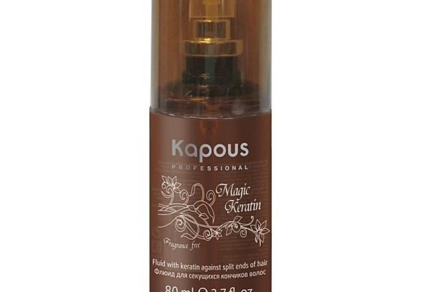 """נוזל שיער Kapous על קצוות מפוצלים עם קרטין קסם """"קרטין"""" חוות דעת"""