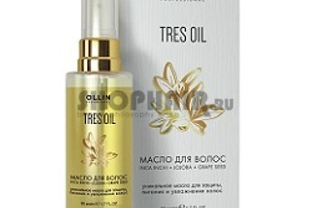 Το πετρέλαιο Ollin Tres Oil - για την προστασία, διατροφή και ενυδάτωση της τρίχας 50 ml Κριτικές