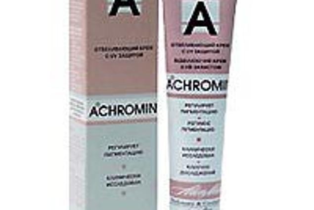 Crema de albire Alen Mak Akhromin cu filtre UV Recenzii
