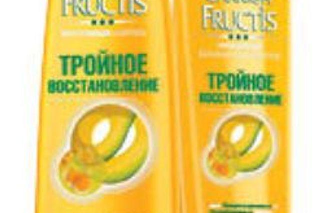 """Şampuan Garnier Fructis """"Üçlü geri yükleme"""" Yorumları"""