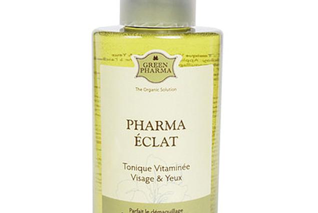 Frissítő ZÖLD PHARMA (Pharma Eclat) Parmalat dúsított vitaminok, az arc, a szem körül Vélemények