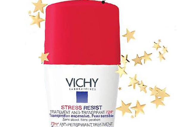 Deodorant anti-stress Vichy 72 tunni kaitse liigse higistamise Arvustused