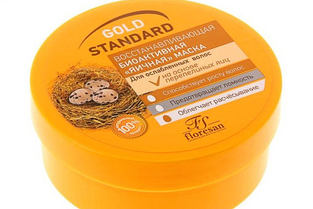 "Hair mask Floresan (Floresan) The restoring bioactive ""egg"" mask for weakened hair Reviews"
