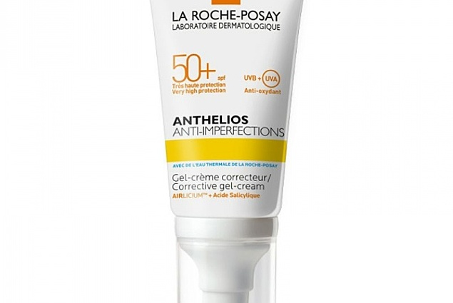 Sunscreen gel cream La Roche Posay ANTHELIOS FOR OIL, PROBLEM AND ACNE-SKIN-SPF 50 + / PPD 21 Reviews