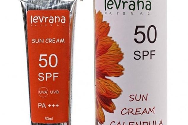 Levrana Calendula Sunscreen SPF50, 50 ml. Komentarze