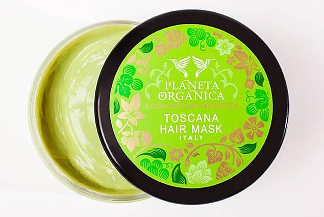 Tætte grønne Toscanske maske Planeta Organica til tørt og skadet hår Anmeldelser
