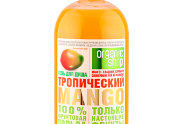Gel de dus ORGANIC SHOP Tropical de mango Recenzii