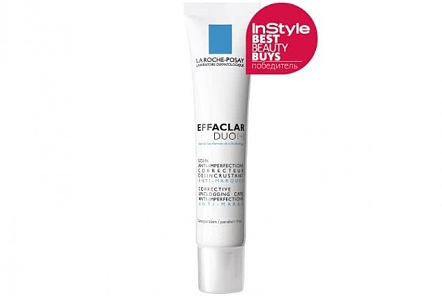 Διορθωτική κρέμα-gel για το πρόβλημα του δέρματος, κατά των ατελειών και постакне La Roche-Posay Effaclar DUO[+] Κριτικές