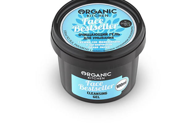 Organic Kitchen Face Bestseller Reinigungsgel Frischer Frangipani-Saft und organische weiße Lilie Bewertungen