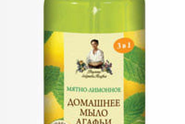 """Savon liquide de Recettes de grand-mère Agathe à la Maison """", à la Menthe et citron"""" Commentaires"""