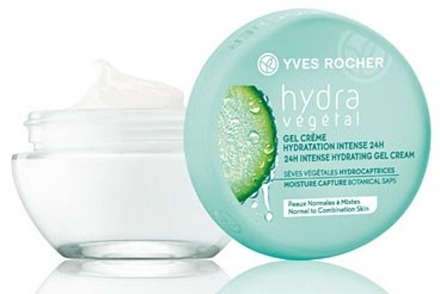 La crème pour le visage Yves Rocher / Yves Rocher Hydra Végétal humectant «Hydratation Intense 24 Heures» Commentaires
