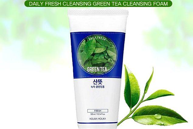 Čistiaca pena Holika Holika Denne čerstvý zelený čaj  Recenzie