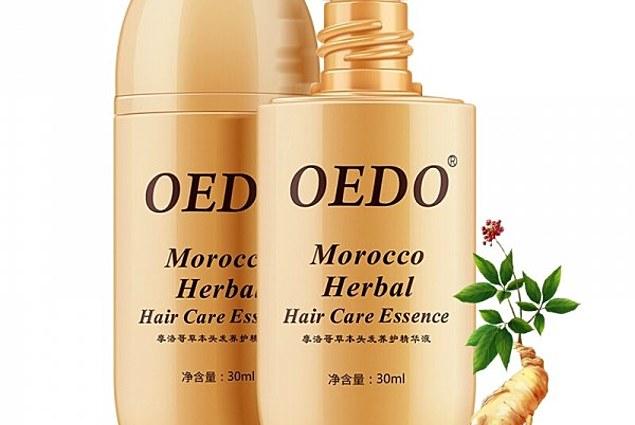 Essence Aliexpress OEDO مراکش مراقبت از مو جینسنگ گیاهی مراقبت از مو برای مردان و خانمها ریزش مو سریع و قدرتمند رشد سریع مو اصلاح سرم ریشه مو نظرات