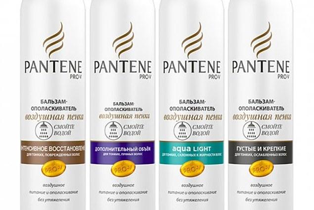 Skölj balsam Pantene Pro-V Aqua Lätt luftskum för tunt, oljigt hår Recensioner