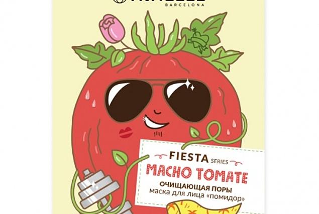 Mascarilla facial Ninelle fiesta macho tomate tomate limpieza de poros tomate  Comentarios