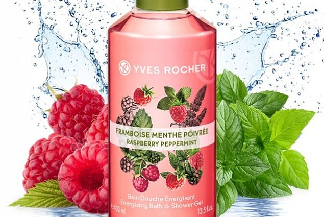 Gel de duș Yves Rocher / Yves Rocher Raspberry & Mint Recenzii