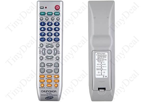 TinyDeal Universal Chunghop RM-88E Remote Đánh giá