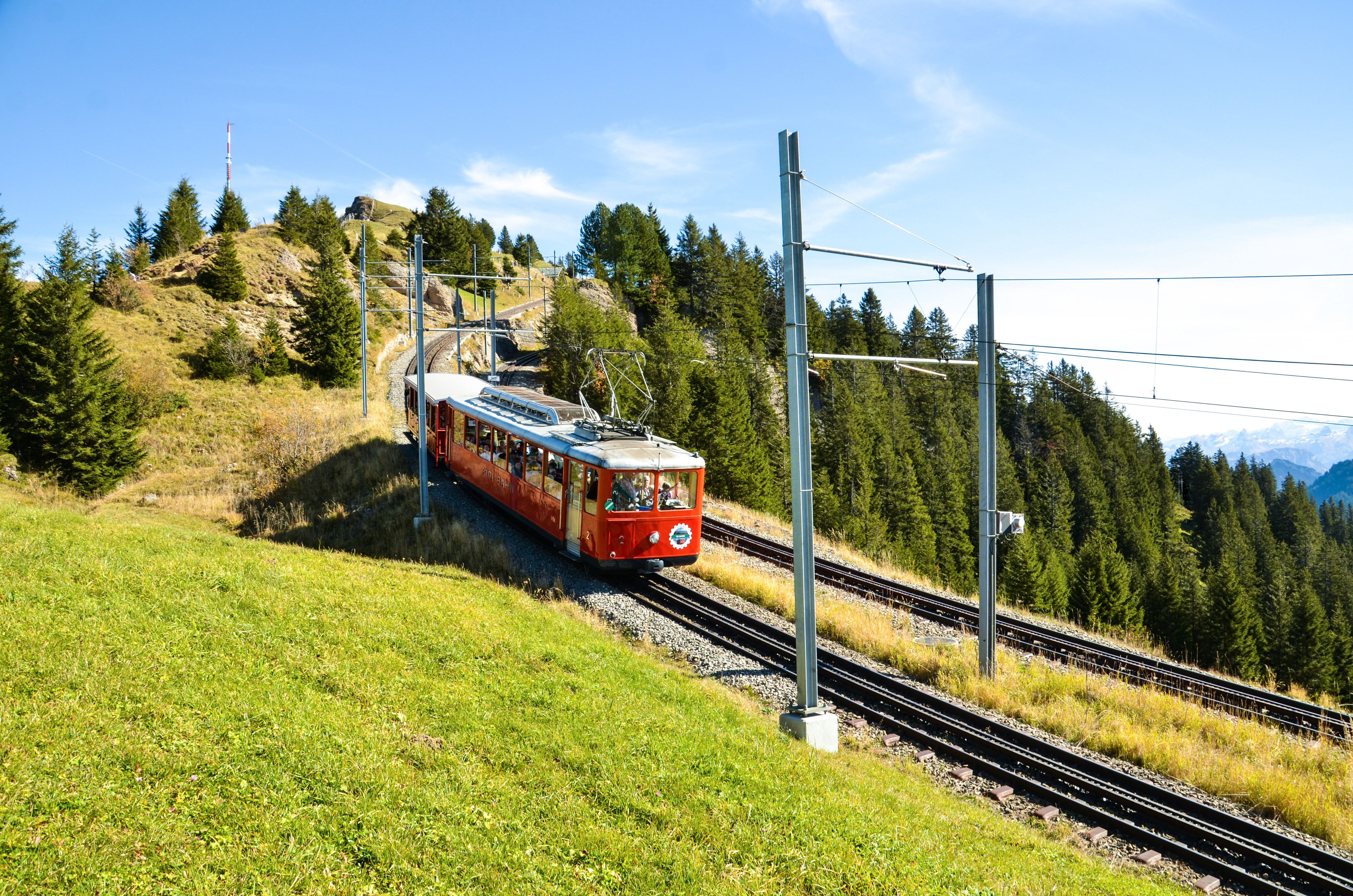 Chemin de fer de montagne de Rigi
