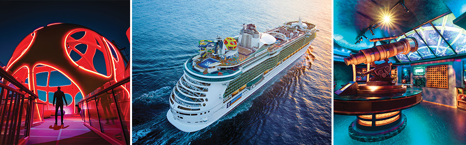 Independence of the Seas – New Features