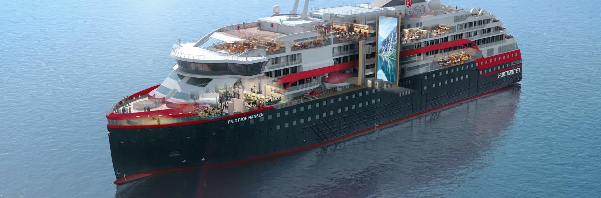 Hurtigruten's Newest Ship Offers UK Showcase