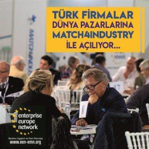 Türk Firmalar Dünya Pazarına Match4Industry ile Açılıyor