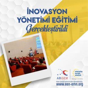 Doğu Marmara ABİGEM organizasyonunda İnovasyon Yönetimi Eğitimi Gerçekleştirildi.