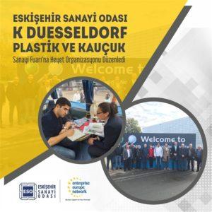 ESO K Duesseldorf Plastik ve Kauçuk Sanayi Fuarına Heyet Organizasyonu Düzenledi