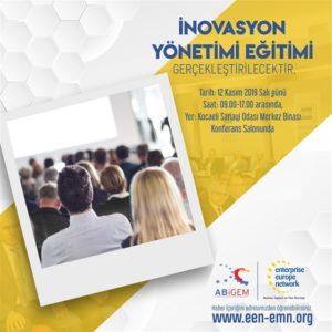 Kobiler için İnovasyon Yönetimi Eğitimi Gerçekleşecektir.