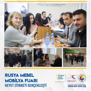 Rusya Mebel Mobilya Fuarı Heyet Ziyareti