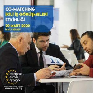 Co-Matching İkili İş Görüşmeleri Etkinliği Düzenlenecektir