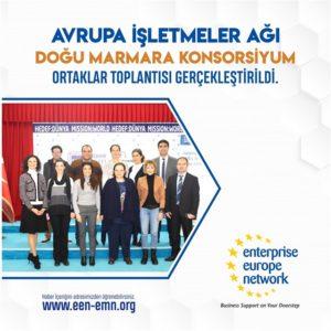 Avrupa İşletmeler Ağı Doğu Marmara Konsorsiyumu Ortaklar Toplantısı Gerçekleştirildi