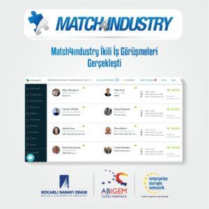 Match4Industry ikili iş görüşmeleri gerçekleşti