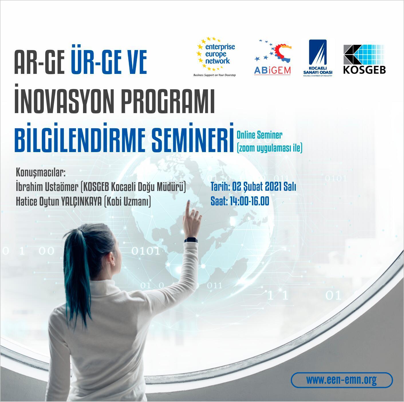 Ar-Ge, Ür-Ge ve İnovasyon Programı