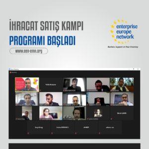 İhracat Satış Kampı Programı Başladı