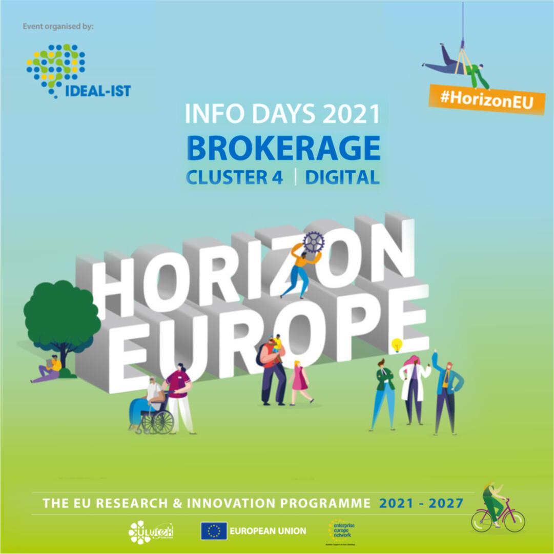 Horizon Europe Digital on-line yüzyüze ikili iş görüşmeleri etkinliğine davetlisiniz.