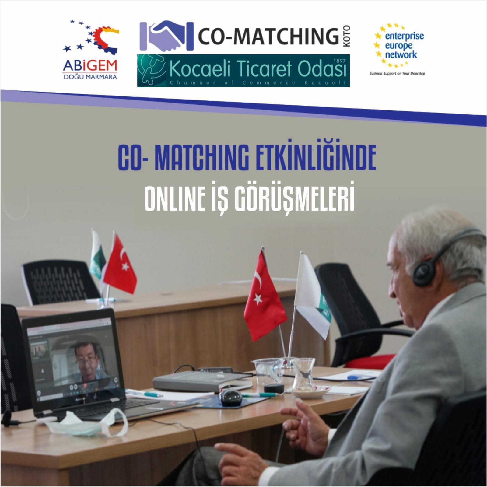 Türk ve yabancı firmalar Co-Matching etkinliğinde online görüşmelerde bulundu