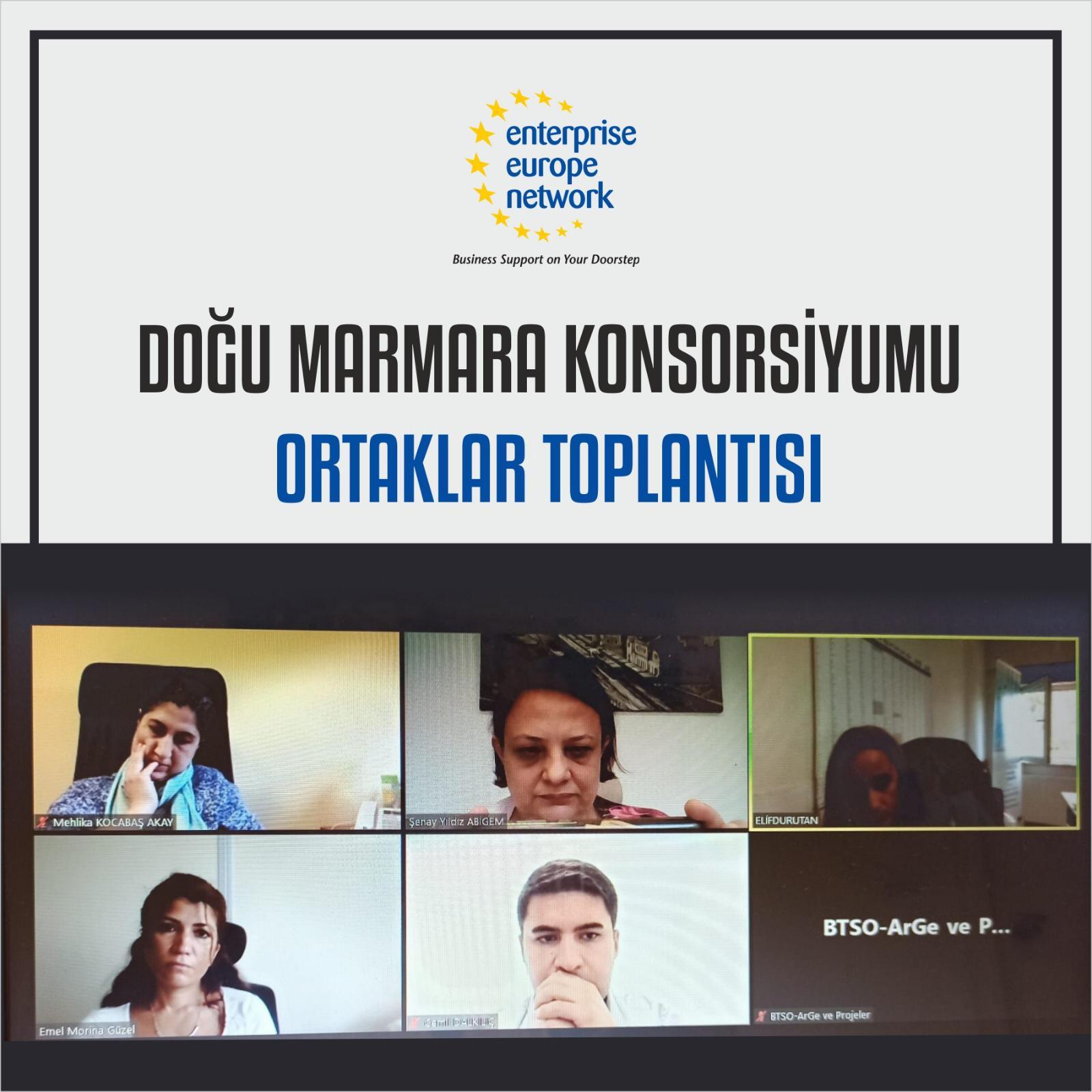 Doğu Marmara Konsorsiyumu ortaklar toplantısı gerçekleştirildi.